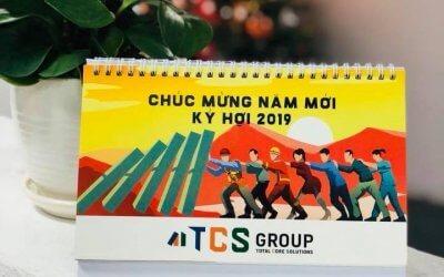 TCS Group phát hành lịch 2019