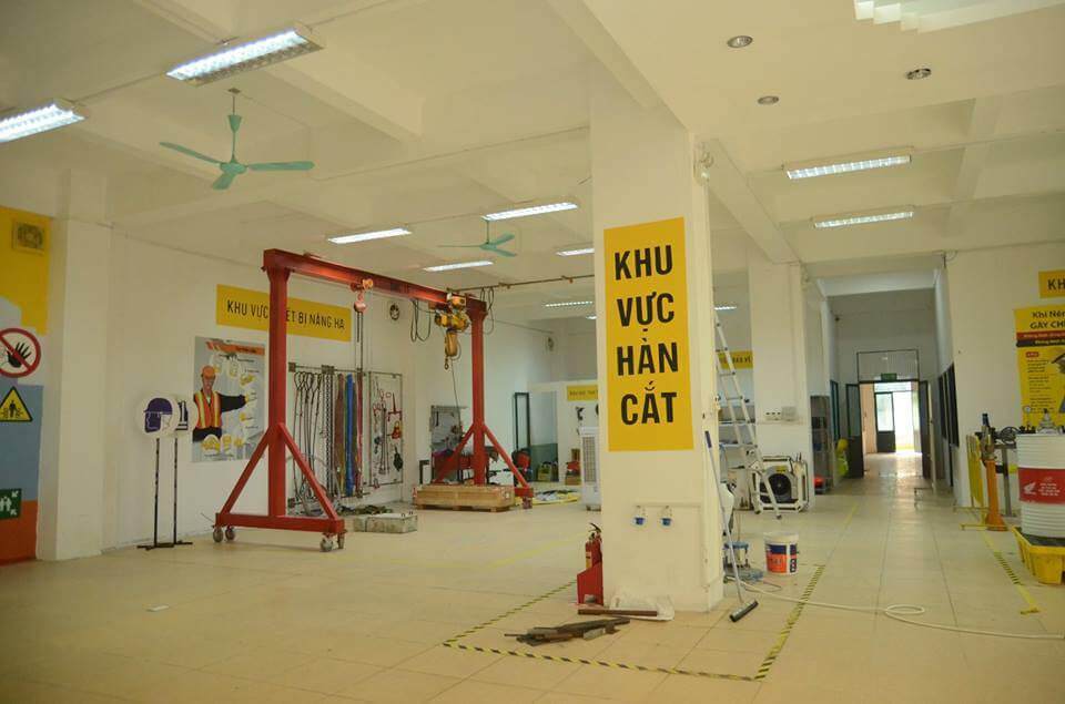 Khai trương trung tâm đào tạo an toàn lớn nhất trong thành phố Hà Nội